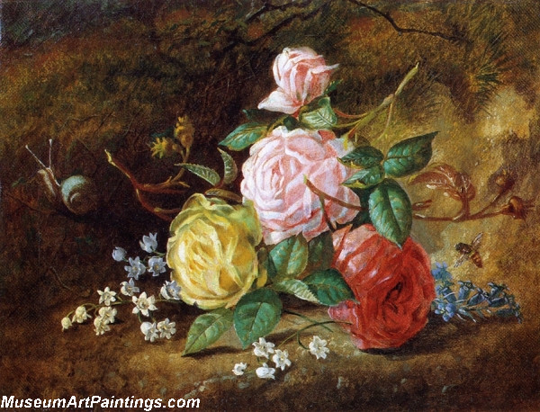 American Roses Painting