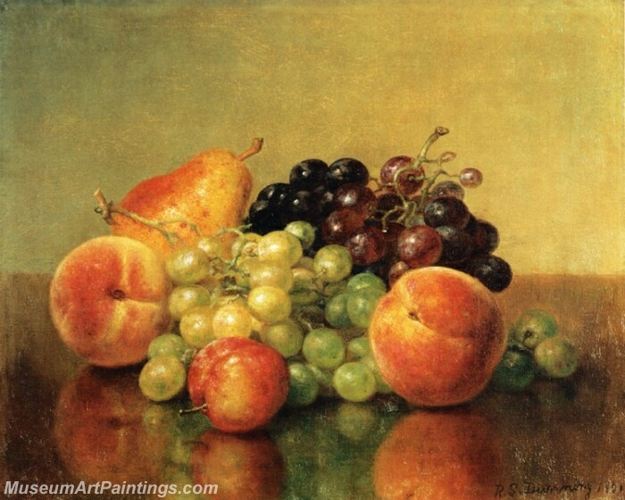 An Arrangement of Fruit Painting