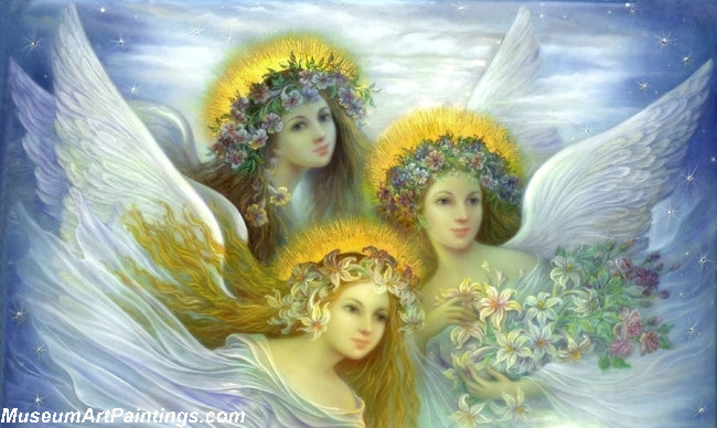 Angel Oil Paintings All the Angels in Heaven are wishing you HAPPY BIRTHDAY.jpg