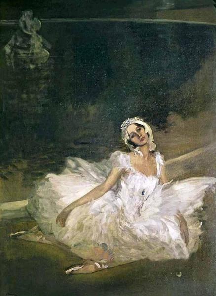 Anna Pavlova by Sir John Lavery R A