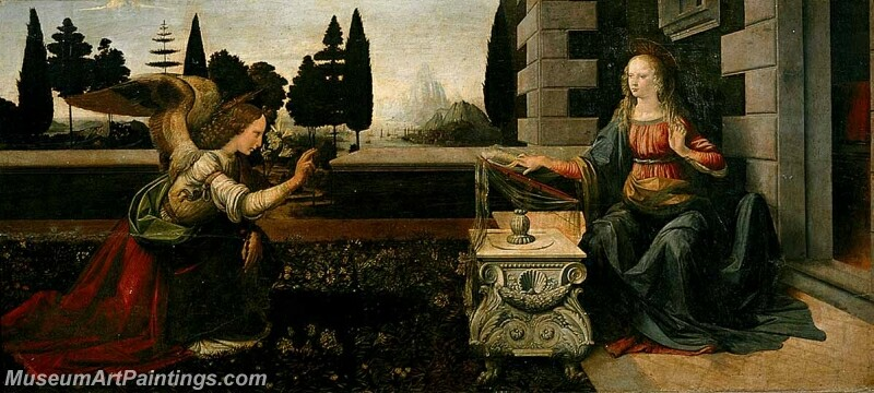 Annunciation Painting