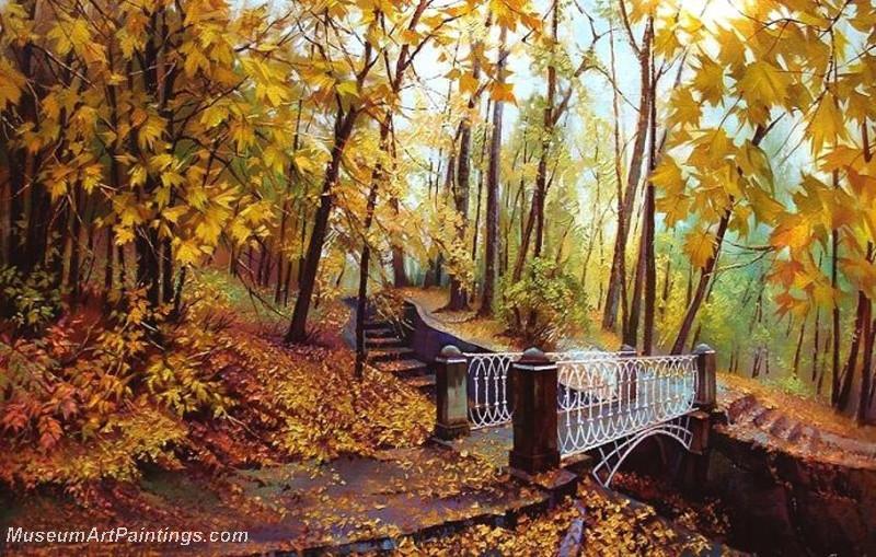 Autumn Landscape Paintings 012