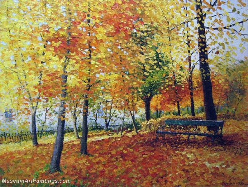 Autumn Landscape Paintings 017