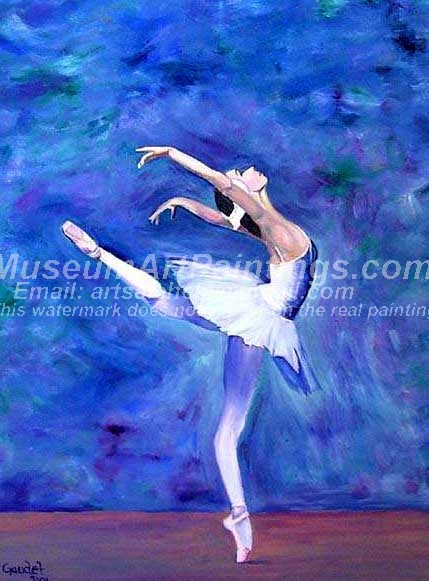 Ballet Oil Painting 026