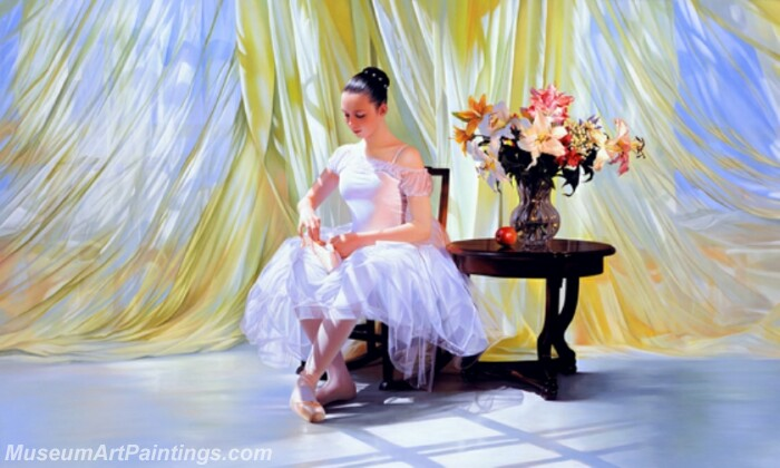 Ballet Oil Painting MDP014