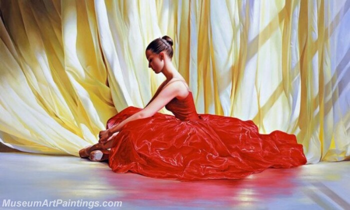 Ballet Oil Painting MDP016