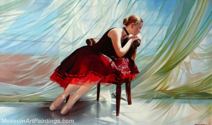 Ballet Oil Painting MDP019