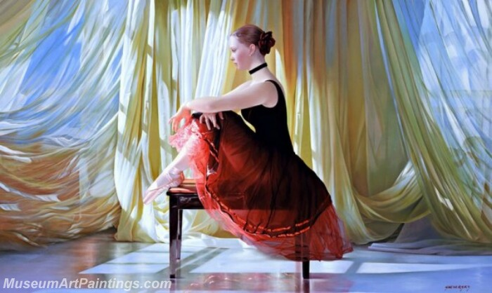 Ballet Oil Painting MDP020