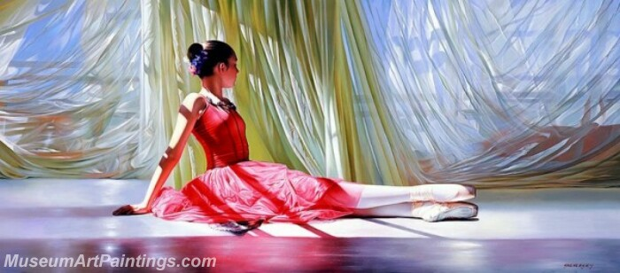 Ballet Oil Painting MDP023