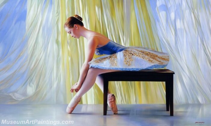 Ballet Oil Painting MDP025
