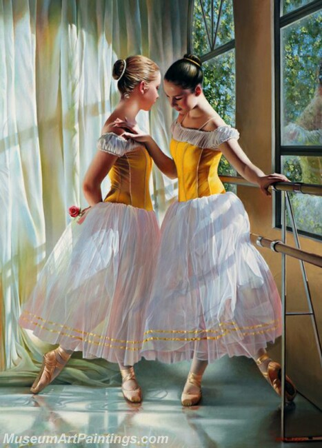 Ballet Oil Painting MDP026