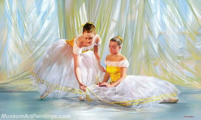 Ballet Oil Painting MDP027