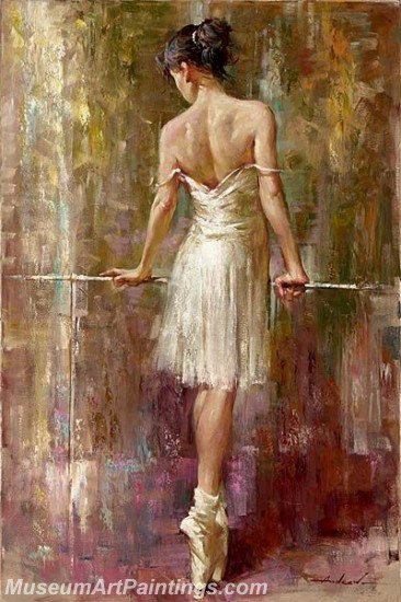 Ballet Oil Painting On Canvas MB01