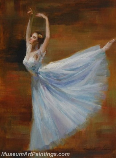 Ballet Oil Painting On Canvas MB010