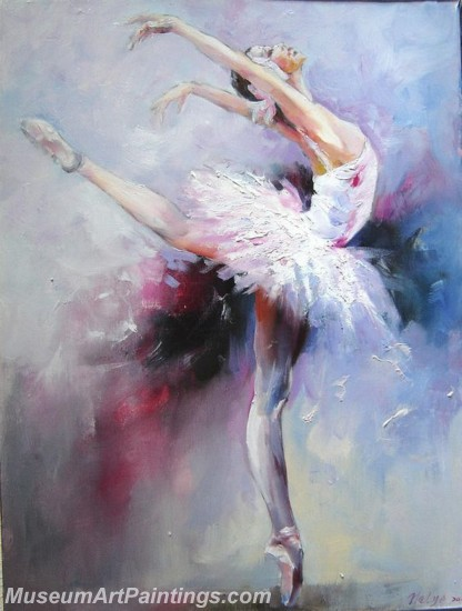 Ballet Oil Painting On Canvas MB02