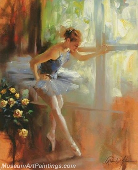 Ballet Oil Painting On Canvas MB020