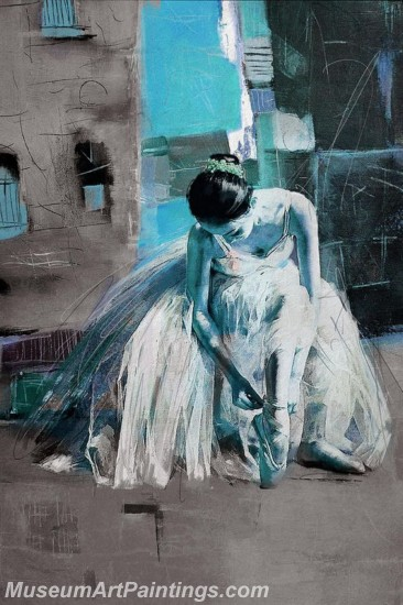 Ballet Oil Painting On Canvas MB021