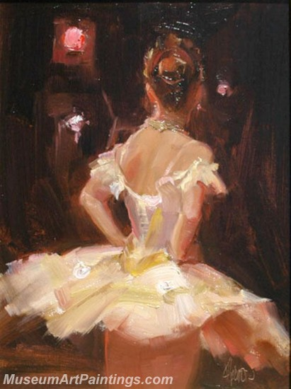 Ballet Oil Painting On Canvas MB022