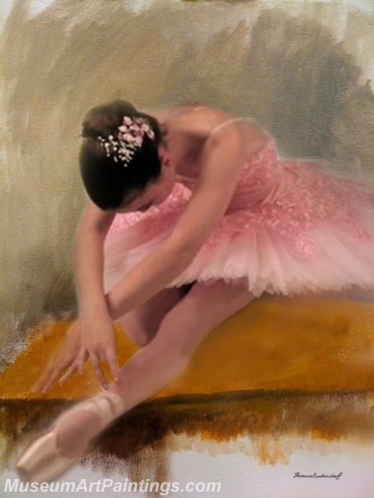 Ballet Oil Painting On Canvas MB023