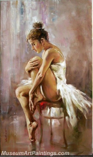 Ballet Oil Painting On Canvas MB024
