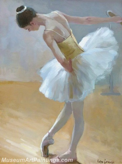 Ballet Oil Painting On Canvas MB026