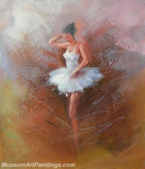 Ballet Oil Painting On Canvas MB029