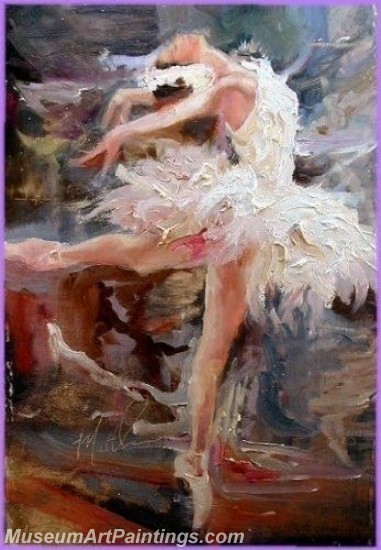Ballet Oil Painting On Canvas MB031