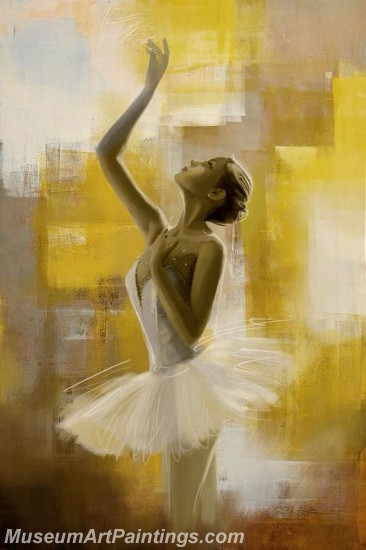 Ballet Oil Painting On Canvas MB049