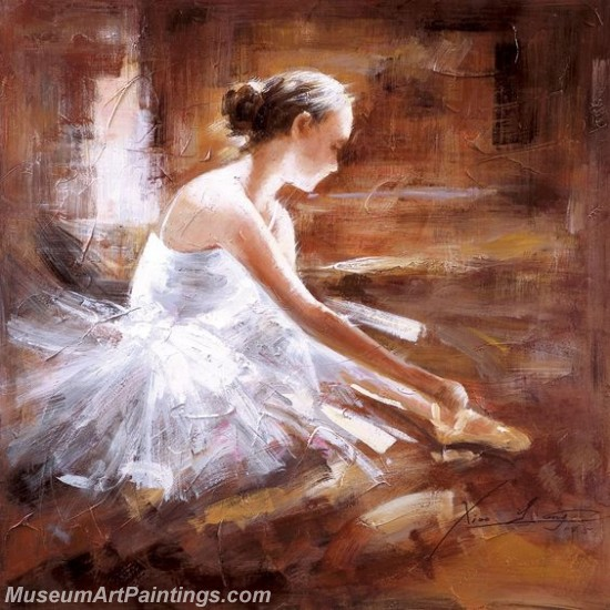 Ballet Oil Painting On Canvas MB051