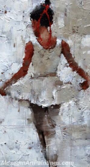 Ballet Oil Painting On Canvas MB058