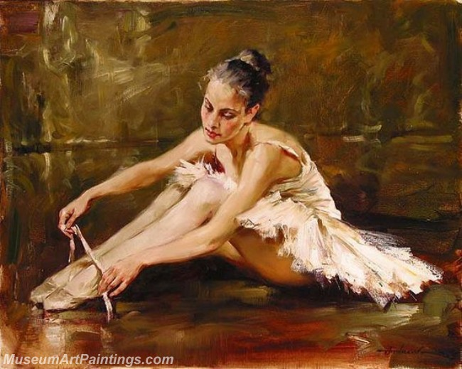 Ballet Oil Painting On Canvas MB06