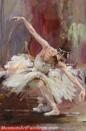 Ballet Oil Painting On Canvas MB07
