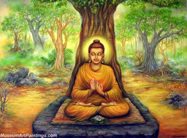 Buddha Canvas Paintings 008