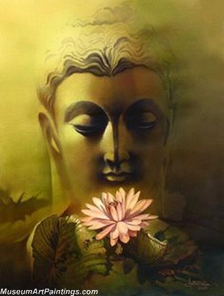 Buddha Face Paintings 006