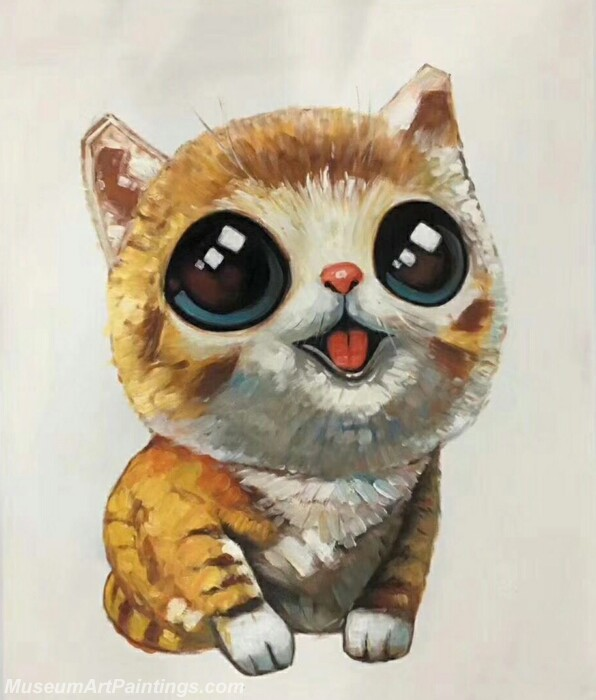 Cartoon Painting Cat CPC1