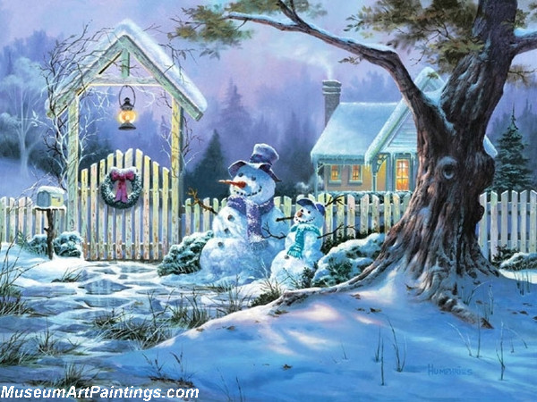Christmas Oil Paintings 101