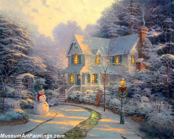 Christmas Oil Paintings 102