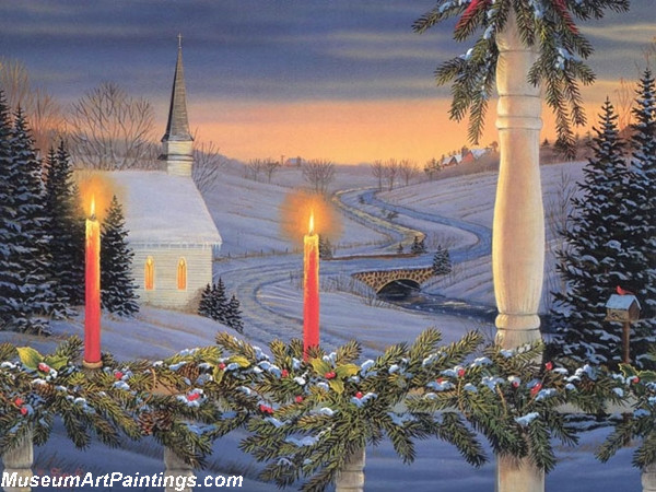 Christmas Oil Paintings 110