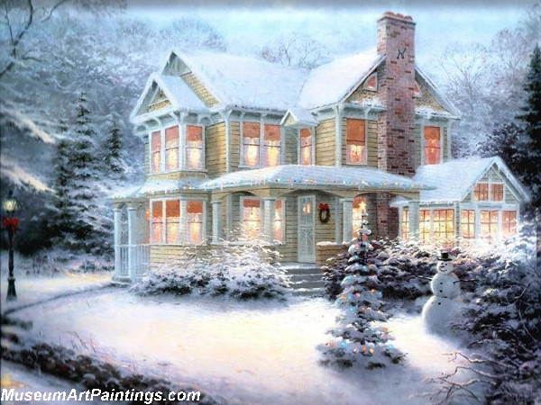 Christmas Oil Paintings 116