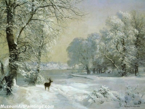 Christmas Oil Paintings 117