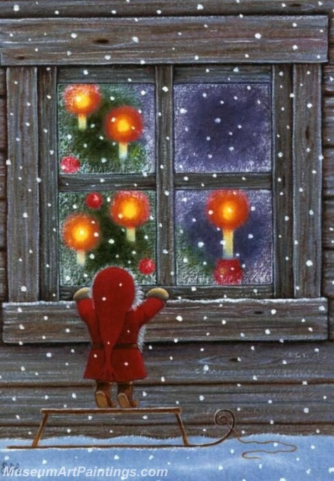Christmas Painting MD016