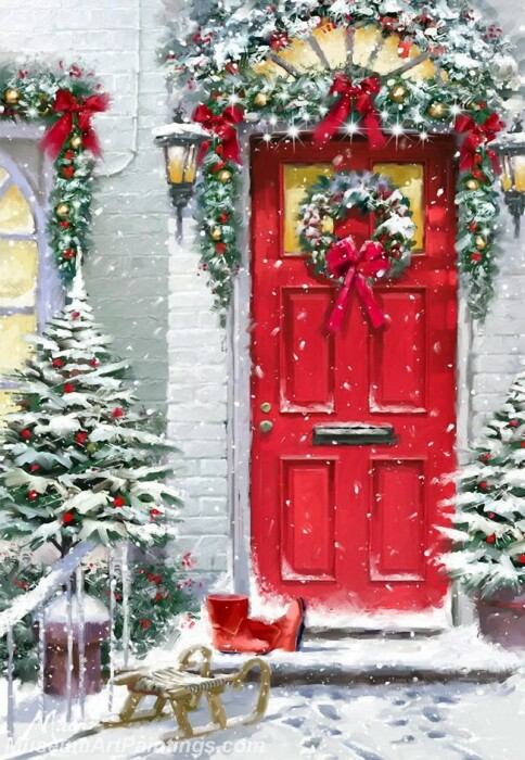 Christmas Painting MD017