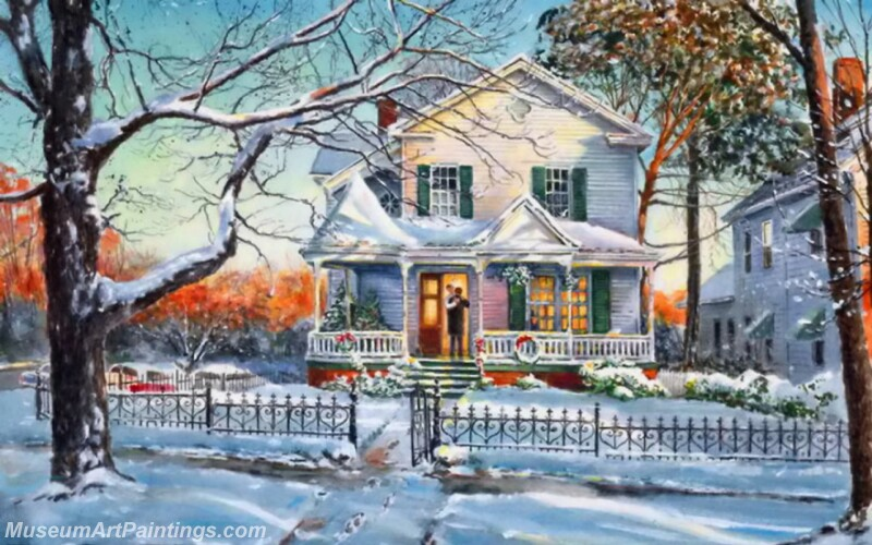 Christmas Painting MD021