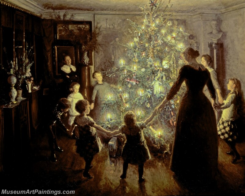 Christmas Painting MD027