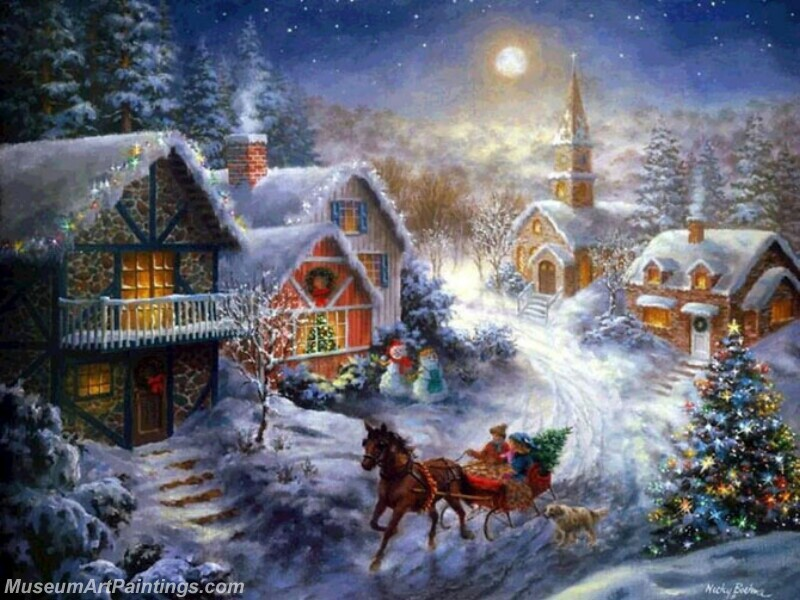 Christmas Painting MD042