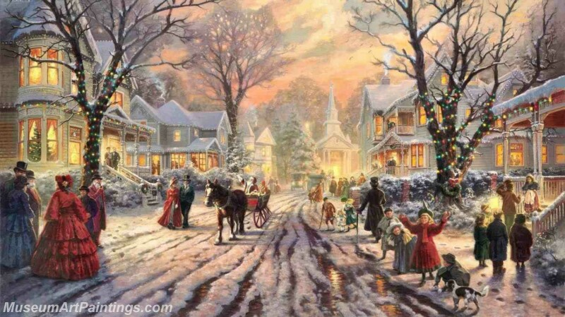 Christmas Painting MD043