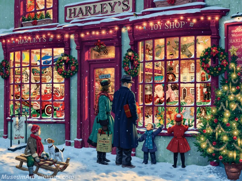 Christmas Painting MD062