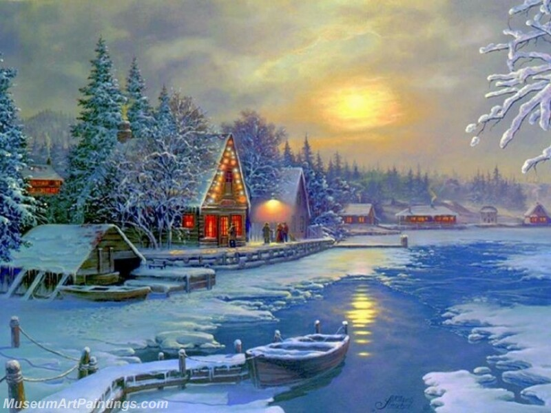 Christmas Painting MD064