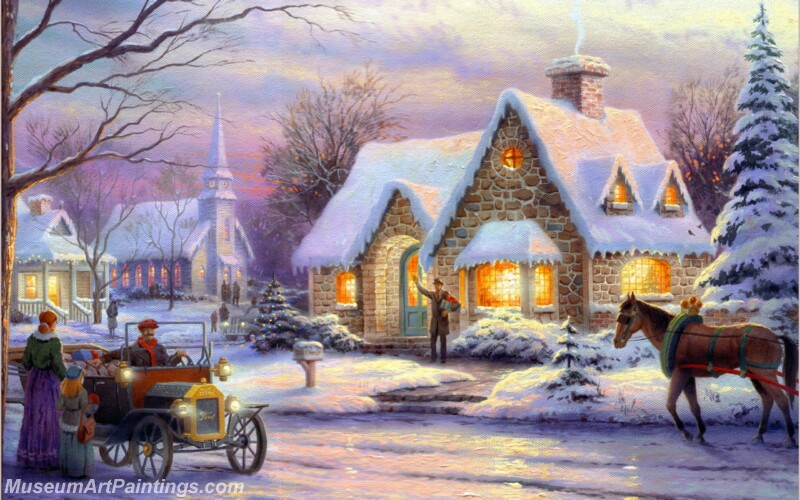 Christmas Painting MD070