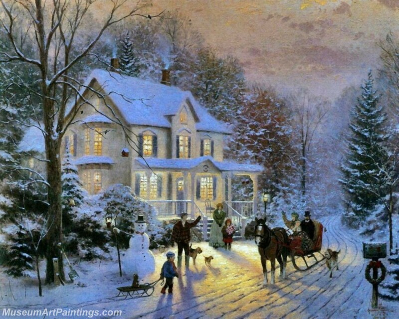 Christmas Painting MD071